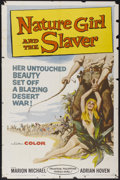"Movie Posters:Adventure, Nature Girl and the Slaver (United Producers Releasing, 1959). OneSheet (27"" X 41""). Adventure...."