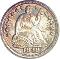 Seated Half Dimes, 1848-O H10C MS66 PCGS. CAC....