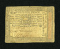 Colonial Notes:Pennsylvania, Pennsylvania October 1, 1773 18d Extremely Fine....