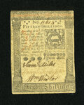 Colonial Notes:Pennsylvania, Pennsylvania October 1, 1773 15s Extremely Fine-About New....