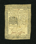 Colonial Notes:Pennsylvania, Pennsylvania April 25, 1776 18d Very Good....