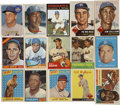 Baseball Cards:Sets, 1953 through 1971 Topps and Bowman Collection (102 cards)....
