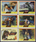"Movie Posters:Science Fiction, The Beast of Hollow Mountain (United Artists, 1956). Title LobbyCard and Lobby Cards (5) (11"" X 14""). Science Fiction.... (Total: 6Items)"