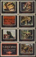 """Movie Posters:Documentary, The Animal World (Warner Brothers, 1956). Lobby Card Set of 8 (11"""" X 14""""). Documentary.... (Total: 8 Items)"""