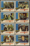 "Movie Posters:War, The Longest Day (20th Century Fox, 1962). Lobby Card Set of 8 (11""X 14""). War.... (Total: 8 Items)"