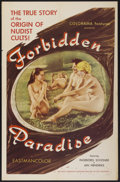"""Movie Posters:Adult, Forbidden Paradise (Colorama, 1958). One Sheet (27"""" X 41""""). Adult...."""