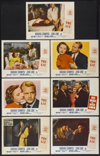 "No Man of Her Own (Paramount, 1950). Lobby Cards (7) (11"" X 14""). Released as The Lie in Australia. Film Noir..."