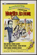 """Movie Posters:Comedy, Munster, Go Home (Universal, 1966). One Sheet (27"""" X 41""""). Comedy...."""