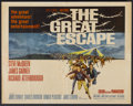 "Movie Posters:War, The Great Escape (United Artists, 1963). Half Sheet (22"" X 28"").War...."