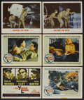"""Movie Posters:War, The Young Lions Lot (20th Century Fox, 1958). Lobby Cards (11) (11""""X 14""""). War.... (Total: 11 Items)"""