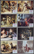 """Movie Posters:Fantasy, The Golden Voyage of Sinbad (Columbia, 1973). Lobby Card (11"""" X14""""). Fantasy.... (Total: 8 Items)"""