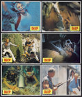 "Movie Posters:Adventure, The Deep (Columbia, 1977). Lobby Card Set of 12 (11"" X 14"").Adventure.... (Total: 12 Items)"
