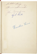 Autographs:Others, The Cleveland Indians Multi-Signed Book (Satchel Paige)....