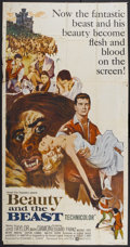 """Movie Posters:Fantasy, Beauty and the Beast (United Artists, 1962). Three Sheet (41"""" X 81""""). Fantasy...."""