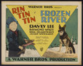 "Movie Posters:Adventure, Frozen River (Warner Brothers, 1929). Title Lobby Card (11"" X 14"").Adventure...."