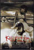 """Movie Posters:Crime, Kalifornia (Gramercy, 1993). One Sheet (27"""" X 40"""") DS. Crime...."""