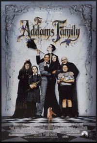 "The Addams Family (Paramount, 1991). One Sheet (27"" X 40"") DS. Comedy"