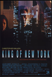 """King of New York (Seven Arts, 1990). One Sheet (27"""" X 40""""). Crime"""