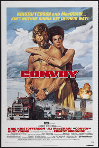 """Convoy (United Artists, 1978). One Sheet (27"""" X 41""""). Action"""