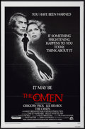 "Movie Posters:Horror, The Omen (20th Century Fox, 1976). One Sheet (27"" X 41"") Style F. Horror...."