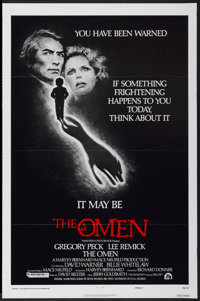 "The Omen (20th Century Fox, 1976). One Sheet (27"" X 41"") Style F. Horror"