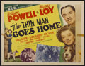"Movie Posters:Mystery, The Thin Man Goes Home (MGM, 1945). Half Sheet (22"" X 28"") Style A.Mystery...."