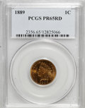 Proof Indian Cents: , 1889 1C PR65 Red PCGS. PCGS Population (16/8). NGC Census: (3/2). Mintage: 3,336. Numismedia Wsl. Price for NGC/PCGS coin i...