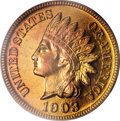 Proof Indian Cents, 1903 1C PR67 Red PCGS....