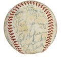 Autographs:Baseballs, 1948 St. Louis Browns Team Signed Baseball. ...