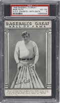 Baseball Cards:Singles (1940-1949), 1948 Baseball's Great Hall of Fame Exhibits Babe Ruth PSA VG-EX4....