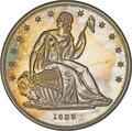 Patterns, 1838 P$1 Name Omitted, Judd-85 Restrike, Pollock-94, High R.7, PR66 ★ NGC....
