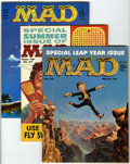 Magazines:Mad, Mad Group (EC, 1960-62).... (Total: 5 Comic Books)