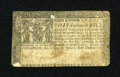Colonial Notes:Maryland, Maryland January 1, 1767 $8 Fine....