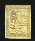 Colonial Notes:Pennsylvania, Pennsylvania October 1, 1773 10s Very Fine-Extremely Fine....