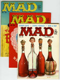 Magazines:Mad, Mad #42, 45, and 46 Group (EC, 1958-59).... (Total: 3 Comic Books)