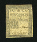 Colonial Notes:Pennsylvania, Pennsylvania October 25, 1775 1s Very Fine....