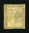 Colonial Notes:Pennsylvania, Pennsylvania October 25, 1775 6d Fine....