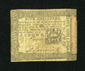 Colonial Notes:Pennsylvania, Pennsylvania October 1, 1773 5s Extremely Fine....
