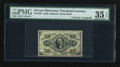 Fractional Currency:Third Issue, Fr. 1255 10c Third Issue with Thompson Courtesy Autograph PMG Choice Very Fine 35 EPQ....