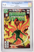 Modern Age (1980-Present):Horror, Swamp Thing (Saga of the...) #13 (DC, 1983) CGC NM/MT 9.8 Whitepages....