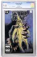 Modern Age (1980-Present):Horror, Swamp Thing #41 (DC, 1985) CGC NM/MT 9.8 White pages....