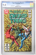 Modern Age (1980-Present):Horror, Swamp Thing (Saga of the...) #10 (DC, 1983) CGC NM/MT 9.8 Whitepages....