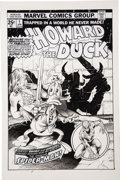 Original Comic Art:Covers, Frank Brunner Howard the Duck #1 Cover Re-Creation OriginalArt (2008)....