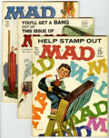 Magazines:Mad, Mad Group (EC, 1963-67).... (Total: 9 Comic Books)