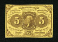Fractional Currency:First Issue, Fr. 1230 5c First Issue Very Fine-Extremely Fine....