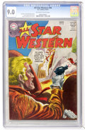 Silver Age (1956-1969):Western, All Star Western #96 (DC, 1957) CGC VF/NM 9.0 Off-white to whitepages....