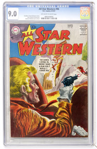 All Star Western #96 (DC, 1957) CGC VF/NM 9.0 Off-white to white pages