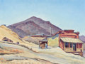 Paintings, EDITH ANNE HAMLIN (American, 1902-1992). Old Store at Randsburg (CA). Oil on artist's board. 12 x 16 inches (30.5 x 40.6...