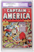 Golden Age (1938-1955):Superhero, Captain America Comics #4 (Timely, 1941) CGC Apparent VF/NM 9.0 Moderate (P) Cream to off-white pages....