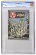 Golden Age (1938-1955):Miscellaneous, P.S. The Preventive Maintenance Monthly #2 File Copy (U. S. Army, 1951) CGC NM 9.4 off-white pages....